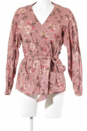 Lovers + friends Wraparound Blouse flower pattern romantic style