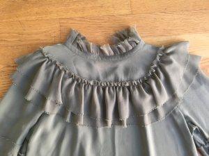 Loveshackfancy Bluse aus Seide Gr. M, NP 330 €