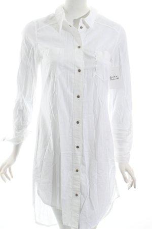 Lovjoi Blusenkleid weiß klassischer Stil