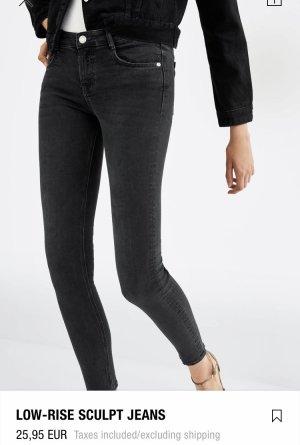 Low Rise Sculpt Schwarz Jeans