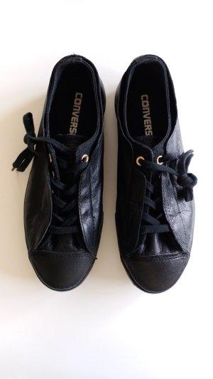 Low Sneaker aus Leder