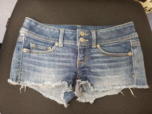 Low Waist Jeans Shorts Gr. 32-34 XXS