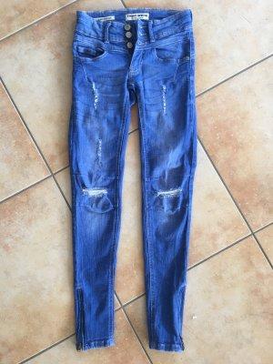 Low Waist Push-Up Skinny Jeans