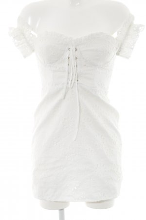 LPA Mini Dress natural white street-fashion look