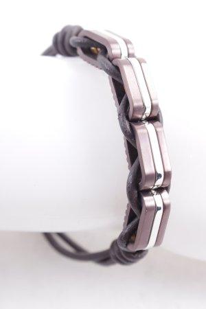 LRJoyce Braccialetto di cuoio multicolore stile classico