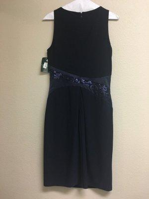 LRL Ralph Lauren Kleid Blau Gr S 36 34 4 Cocktail Abendkleid