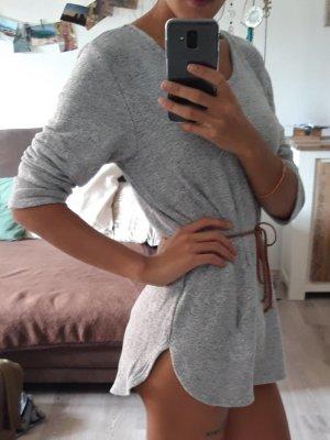 LT Pullover Grau Größe S (Ohne Gürtel)