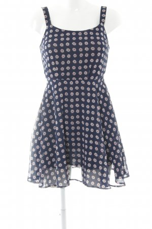 LTB A-Linien Kleid florales Muster Romantik-Look