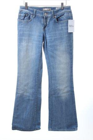 LTB Boot Cut Jeans blau-blassblau Casual-Look