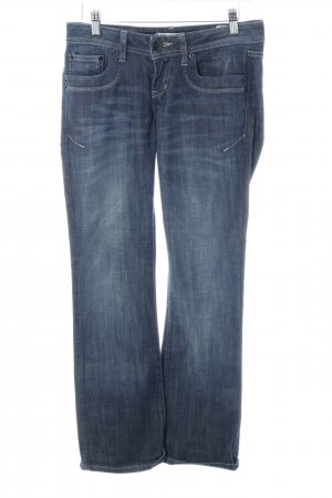 LTB Boot Cut Jeans blau Business-Look