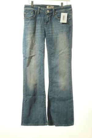 LTB Boot Cut Jeans blau Casual-Look