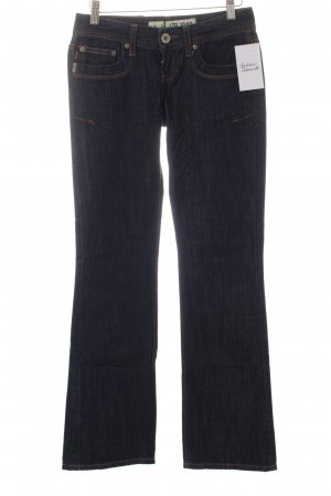 LTB Boot Cut Jeans dunkelblau Casual-Look