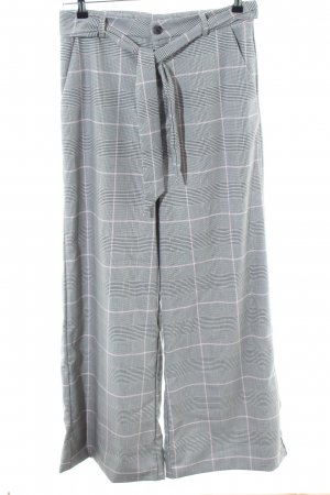 LTB Pleated Trousers light grey allover print casual look