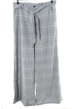 LTB Pantalón de pinza gris claro estampado repetido sobre toda la superficie