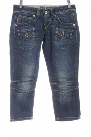 LTB by Littlebig 3/4 Jeans dunkelblau Washed-Optik