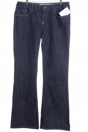 LTB by Littlebig Boot Cut Jeans weiß-dunkelblau meliert Casual-Look