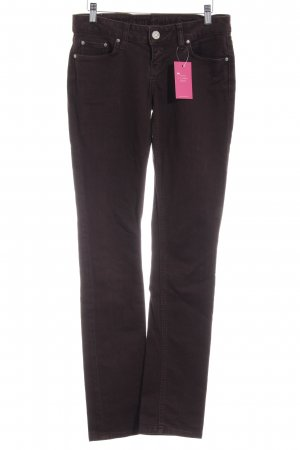 LTB by Littlebig Straight-Leg Jeans dunkelbraun Casual-Look