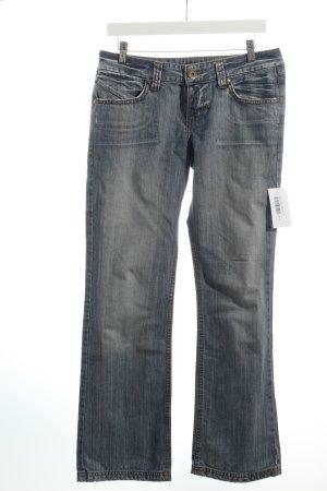 LTB by Littlebig Straight-Leg Jeans hellblau Washed-Optik