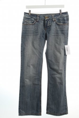LTB by Littlebig Straight-Leg Jeans hellblau Washed-Optik