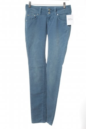 LTB Cordhose himmelblau Washed-Optik