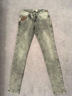 LTB Damen Jeans Ardelia - Super Slim Fit Grau Gr. 24 (32/34)