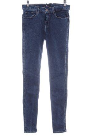 LTB High Waist Jeans dunkelblau Casual-Look