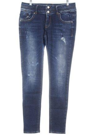 LTB High Waist Jeans dunkelblau Urban-Look