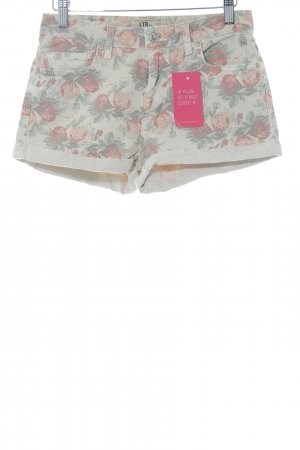 LTB Hot Pants Blumenmuster Casual-Look