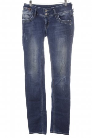 LTB Hüftjeans blau Destroy-Optik