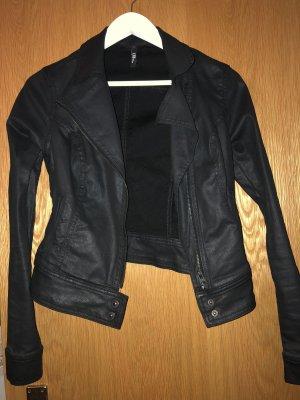 LTB Veste motard noir-gris anthracite