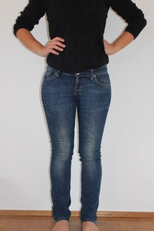 LTB Low Rise jeans donkerblauw