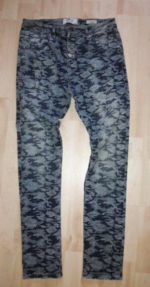 LTB Jeans ausgefallen-extravagant-camouflage-blau 27