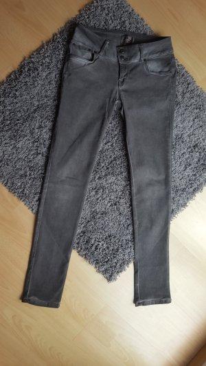 LTB Jeans grau, Größe 30 Low Rise Super Slim