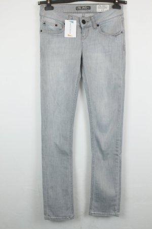 LTB Jeans Mid Rise Slim Gr. 25 hellgrau