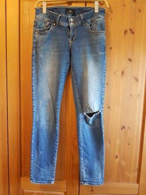 LTB Jeans slim gris ardoise-bleu acier
