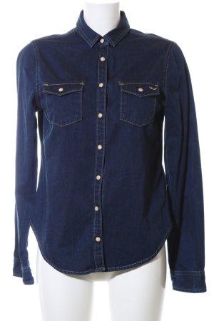 LTB Camicia denim blu stile casual