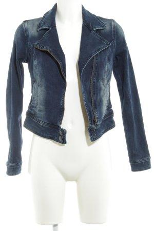 LTB Jeansjacke dunkelblau Jeans-Optik
