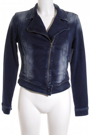 LTB Jeansjacke dunkelblau Washed-Optik