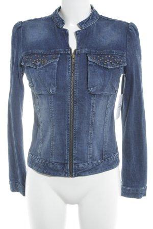LTB Jeansjacke stahlblau-blau Casual-Look