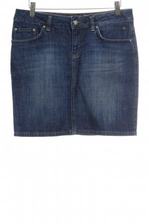 LTB Jeansrock dunkelblau Washed-Optik