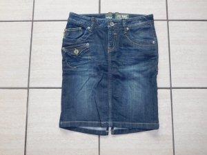 LTB Jupe en jeans bleu