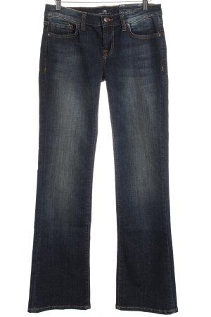 LTB Jeansschlaghose dunkelblau 90ies-Stil