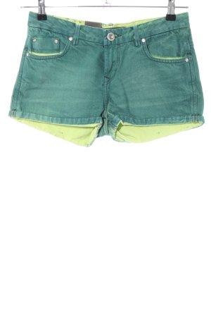 LTB Jeansshorts grün Casual-Look