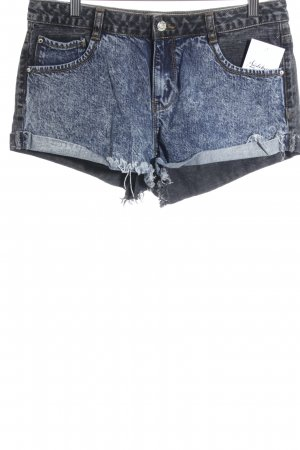 LTB Jeansshorts schwarz-blau Casual-Look