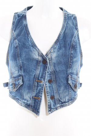 LTB Denim Vest blue country style