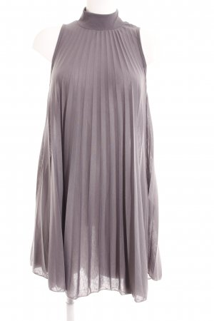 LTB Vestido de tela de jersey gris estilo minimalista