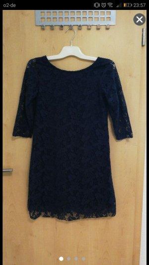LTB Kleid mit Spitze marine