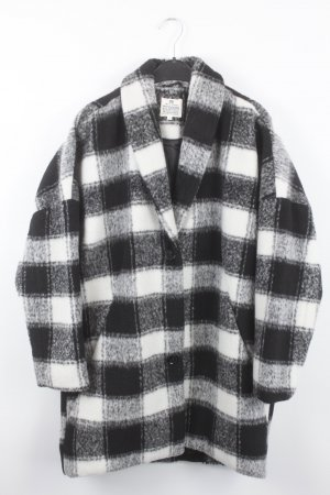 LTB Manteau d'hiver noir-blanc tissu mixte