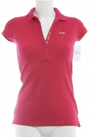 LTB Polo-Shirt magenta Casual-Look