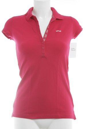 LTB Polo Shirt magenta casual look